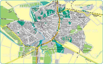 Hiszi Map Kft T Bacs Kiskun Megye County Kalocsa Terkep