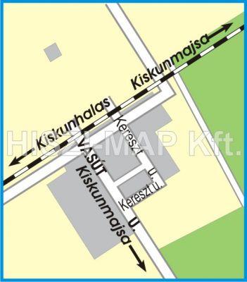 Hiszi Map Kft T Bacs Kiskun Megye County Kiskunmajsa Tajo Terkep