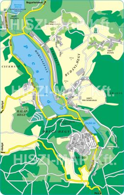Hiszi Map Kft T Baranya Megye County Orfu Terkep