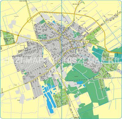 Hiszi Map Kft T Bekes Megye County Bekescsaba Terkep Tajolo