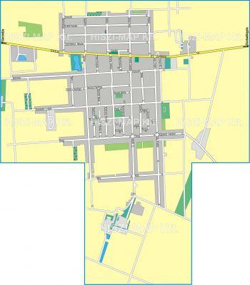 Hiszi Map Kft T Bekes Megye County Ujkigyos Terkep