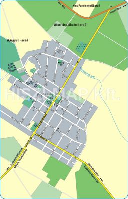 Hiszi Map Kft T Csongrad Megye County Asotthalom Terkep