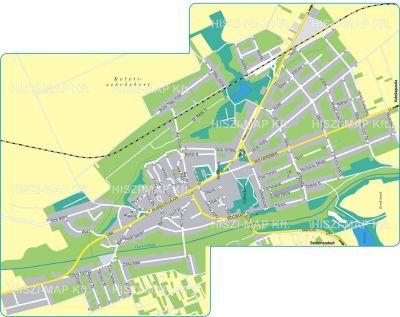 Hiszi Map Kft T Fejer Megye County Enying Terkep