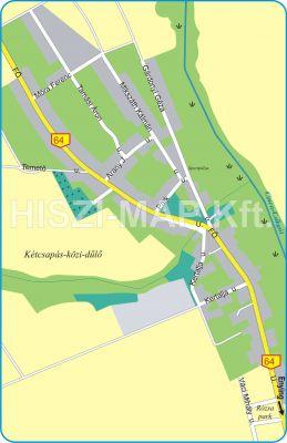 Hiszi Map Kft T Fejer Megye County Enying Balatonbozsok Terkep