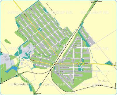 Hiszi Map Kft T Fejer Megye County Pusztaszabolcs Terkep