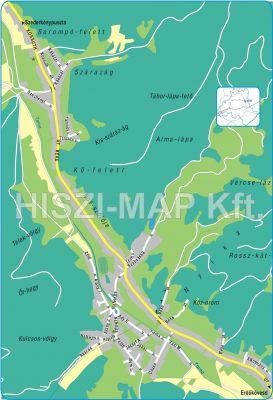 Hiszi Map Kft T Heves Megye County Istenmezeje Terkep
