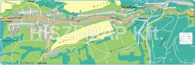 Hiszi Map Kft T Heves Megye County Parad Terkep