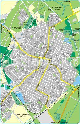 Hiszi Map Kft T Jasz Nagykun Szolnok Megye County Karcag Terkep