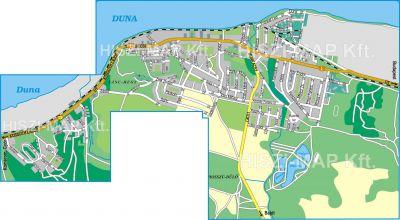 Hiszi Map Kft T Komarom Esztergom Megye County Nyergesujfalu Terkep