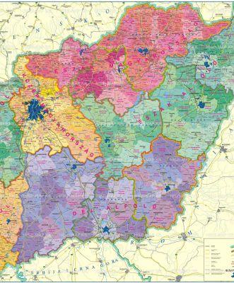 Hiszi Map Kft T Magyarorszag Magyarorszag Terkep Duna Tisza Koze