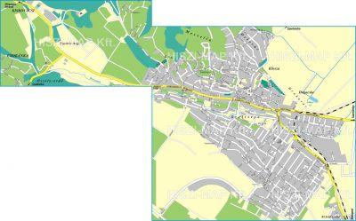Hiszi Map Kft T Pest Megye County Pomaz Terkep