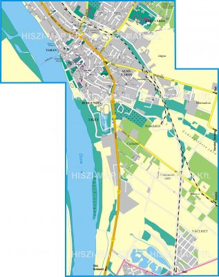 Hiszi Map Kft T Pest Megye County Vac Terkep Del