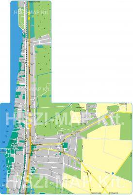 Hiszi Map Kft T Somogy Megye County Balatonlelle Terkep