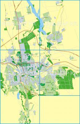 Hiszi Map Kft T Somogy Megye County Kaposvar Tajolo Terkep