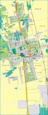 Hiszi Map Kft T Somogy Megye County Marcali Terkep
