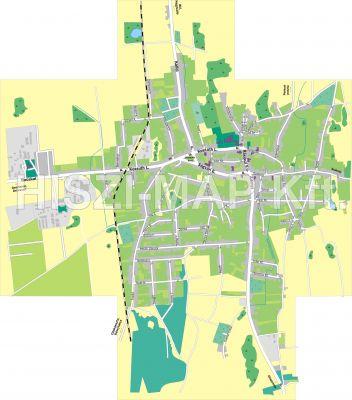 Hiszi Map Kft T Szabolcs Szatmar Bereg Megye County Balkany Terkep