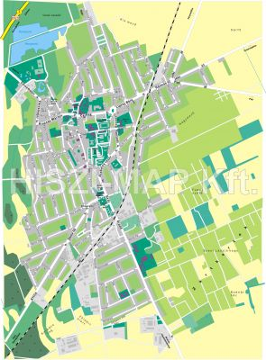 Hiszi Map Kft T Szabolcs Szatmar Bereg Megye County Kisvarda Terkep