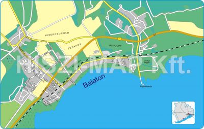 Hiszi Map Kft T Veszprem Megye County Zanka Terkep