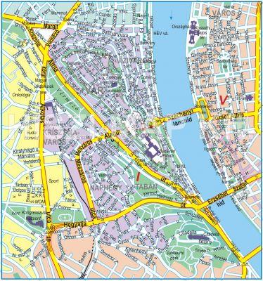 Hiszi Map Kft T Budapest I Kerulet Terkepe I Kerulet