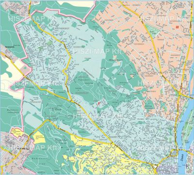 Hiszi Map Kft T Budapest Ii Kerulet Terkepe Pesthidegkut Ii