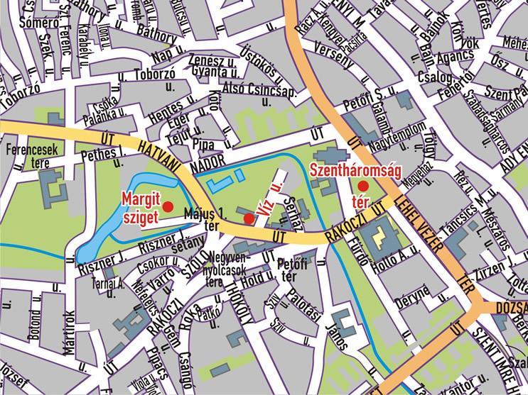 jászberény térkép Csángó Fesztivál helyszíneinek térképe   Hiszi Map Kiadó Kft. jászberény térkép