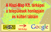 A HISZI-MAP Kft. trkpei a teleplsi nkormnyzatok honlapjain - trkp megnyitsa j ablakban ...