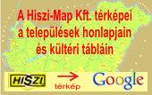A HISZI-MAP Kft. térképei a települési önkormányzatok honlapjain - térkép megnyitása új ablakban ...