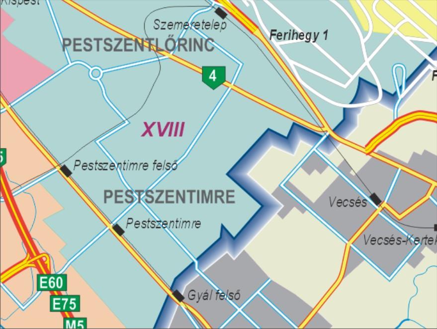 magyarország térkép vecsés Grafikus térképek | A HISZI – TÉRKÉP honlapja magyarország térkép vecsés