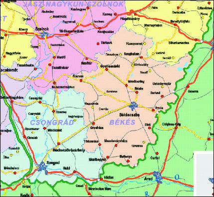 megyehatár térkép Grafikus térképek | A HISZI – TÉRKÉP honlapja