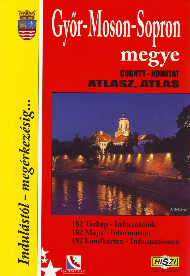Megyeatlasz: Győr-Moson-Sopron megye