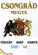 Megyetérkép: Csongrád megye