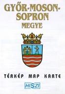 Megyetérkép: Győr-Moson-Sopron megye