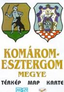 Megyetérkép: Komárom-Esztergom megye