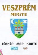 Megyetérkép: Veszprém megye