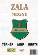 Megyetérkép: Zala megye