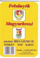 Térkép: Felsőnyék, Magyarkeszi