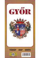 Térkép: Győr