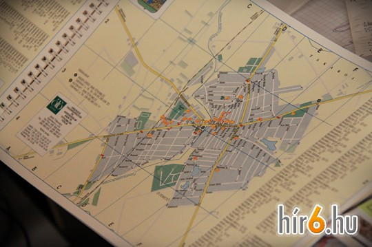Egy településtérkép a magyarországi 3150 közül. A cég elkészítette az ország összes településének térképét és térinformatikai adatbázisát