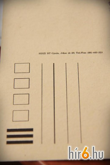 A képeslapok még a HISZI Bt. termékei voltak