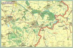 Elkészítettük Gyula város nevezetességeit, illetve a tábla másik oldalán Gyula és környékének térképét tartalmazó, térképes, kültéri információs táblánkat, amely a Gyulai Tourinform Iroda elé került kihelyezésre. A képre kattintva megtekintheti a tábla online változatát.