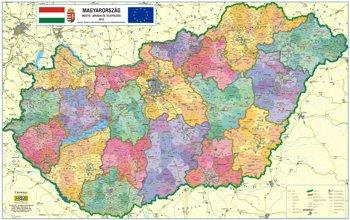 online térkép Magyarország közigazgatási térképe (járástérkép) – Magyarország  online térkép