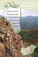 A Börzsöny-hegység 1:40 000-es léptékű turisztikai információs térképének első borítója.