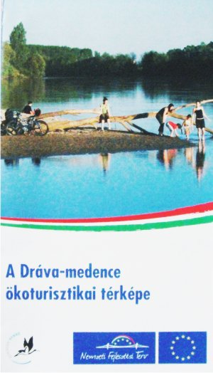 Dráva-medence, turisztikai térkép