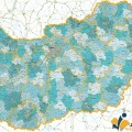 Magyarország járás térképe ma és a 19-20 sz. fordulóján