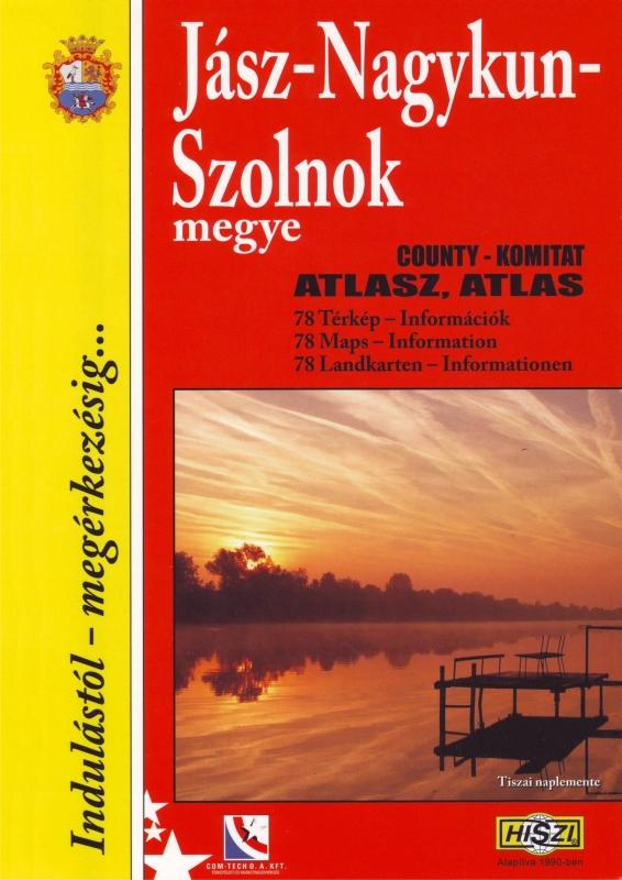 Megyeatlasz: Jász-Nagykun-Szolnok megye