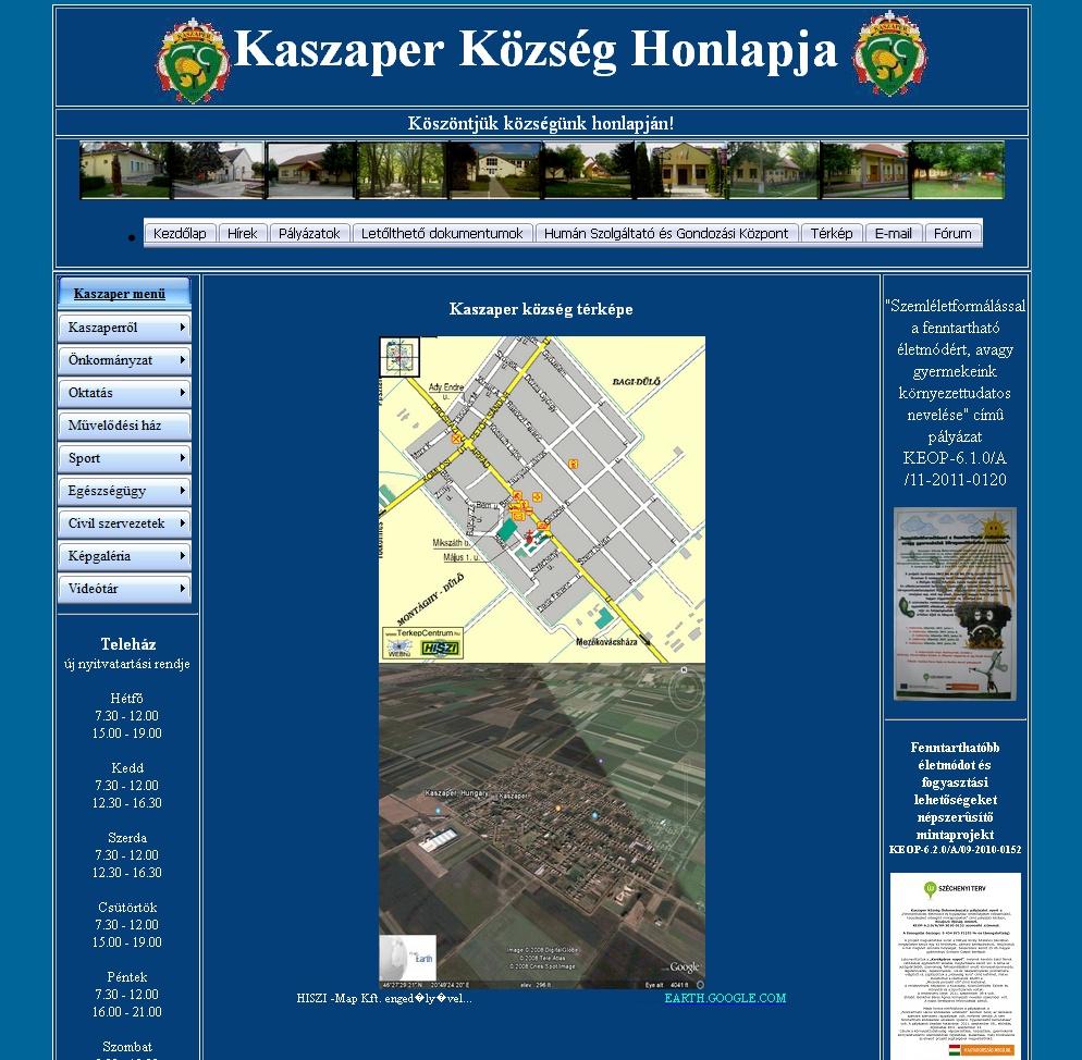 Kaszaper térkép