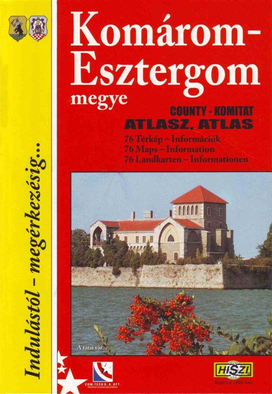 Megyeatlasz: Komárom-Esztergom megye