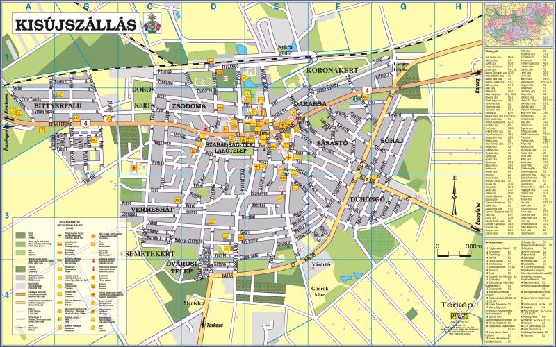 kisújszállás térkép Utcai információs táblák | A HISZI – TÉRKÉP honlapja kisújszállás térkép